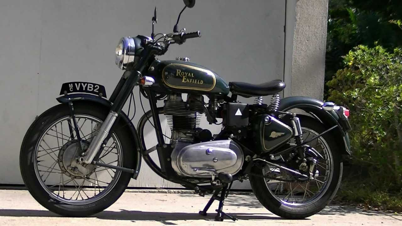 Check Out This Timeless & Well Kept Royal Enfield Bullet 500 Classic ...