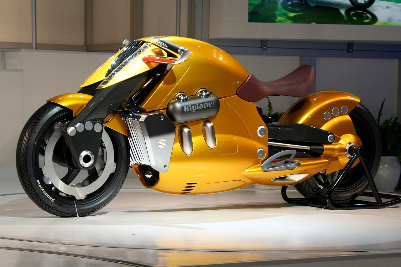 The fastest motorcycle. Unbelievable but true