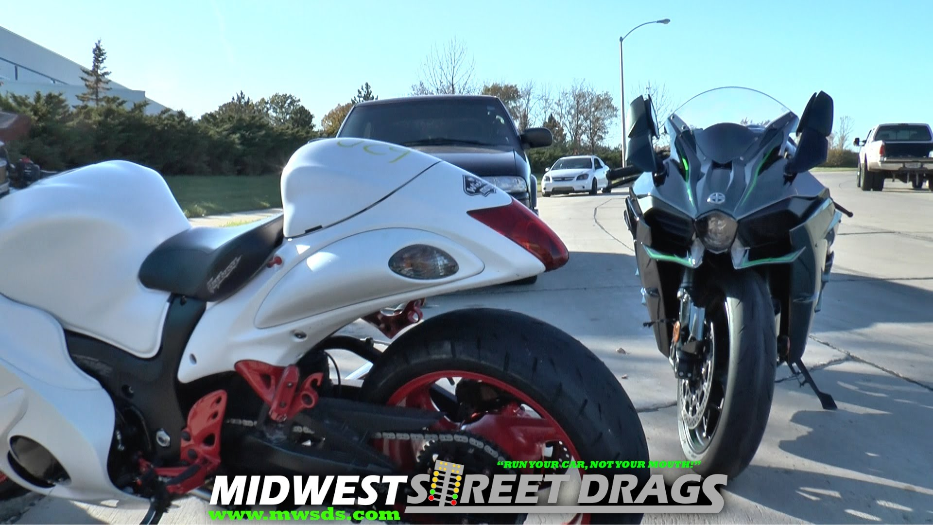 Kawasaki H2 Supercharged Vs Suzuki Hayabusa Who Will Win