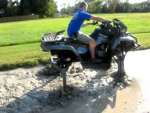 Most Lifted Atv Ever Goes Through Crazy Mud Pit