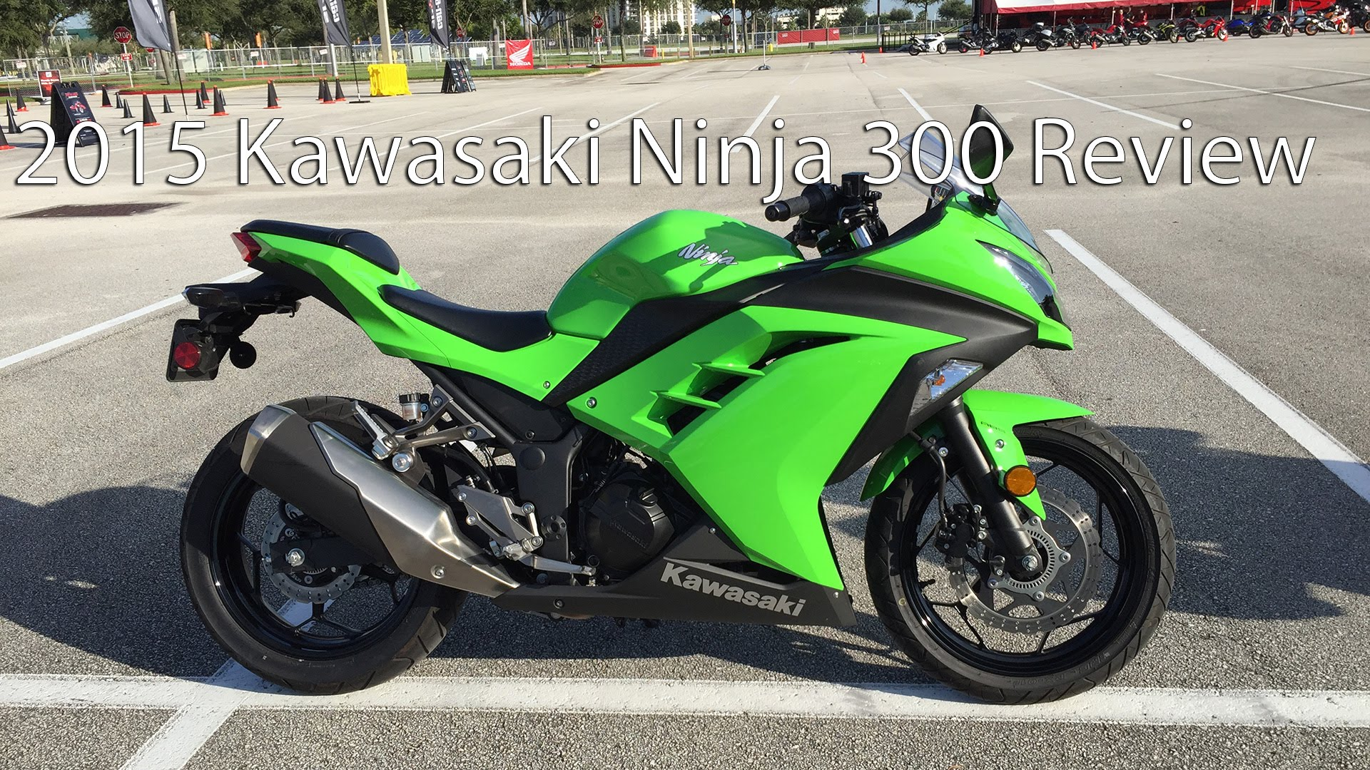 the 2015 kawasaki ninja 300 is a monster on the streets. Black Bedroom Furniture Sets. Home Design Ideas