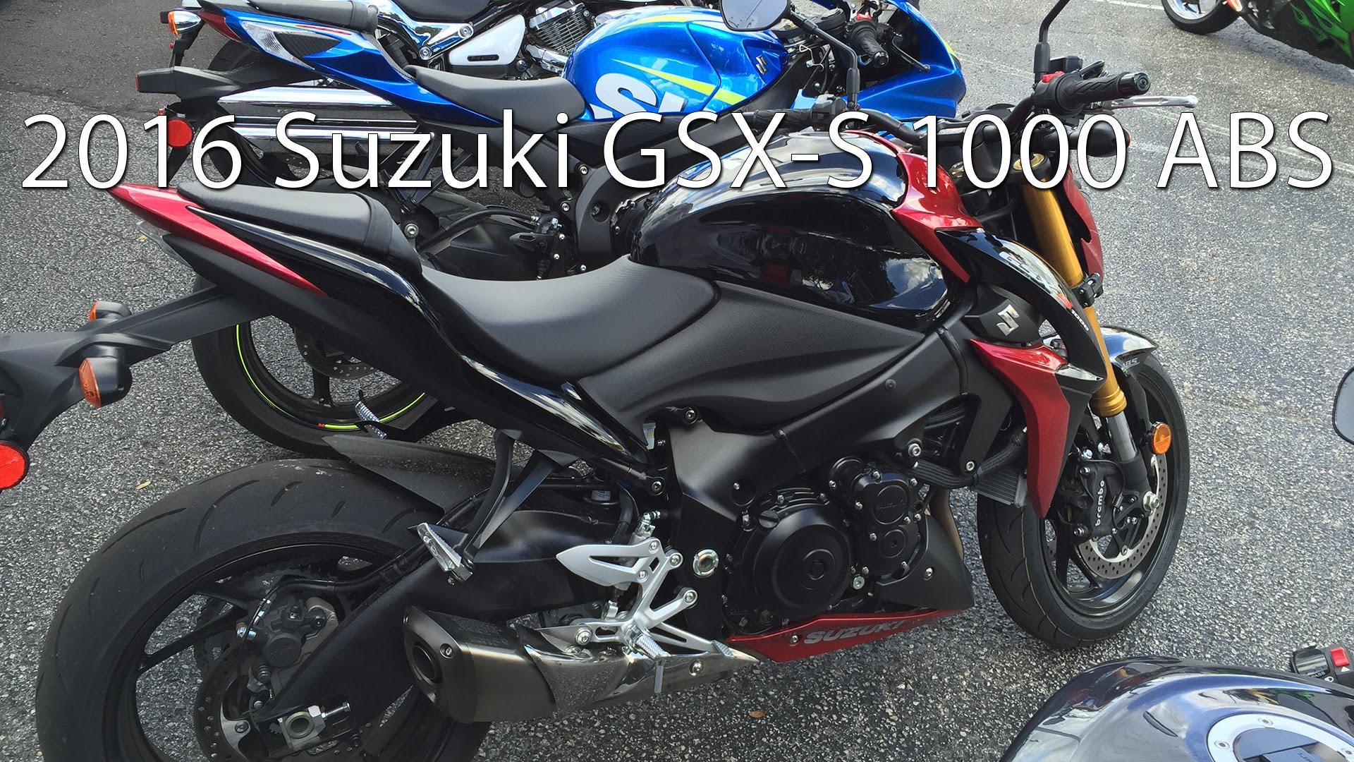 You are Going To Want The 2016 Suzuki GSX S 1000 ABS In Your