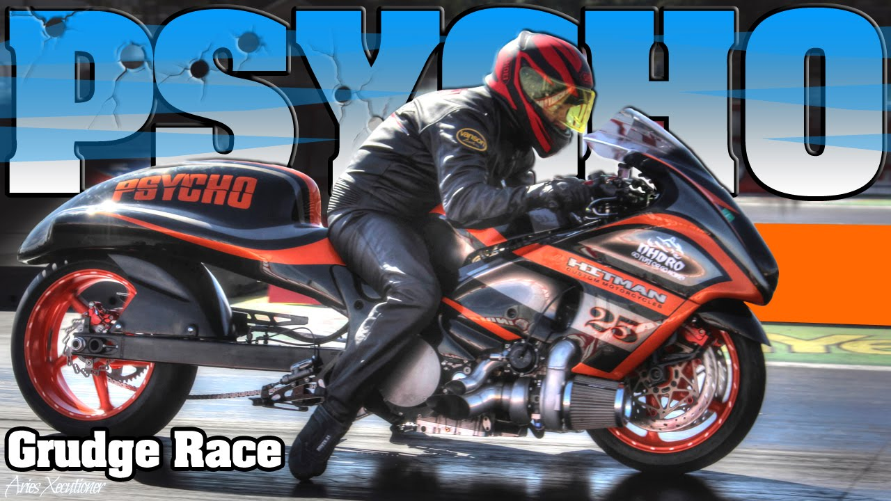 EPIC RACE Between The Turbo Pro Street Bike & All Motor ...