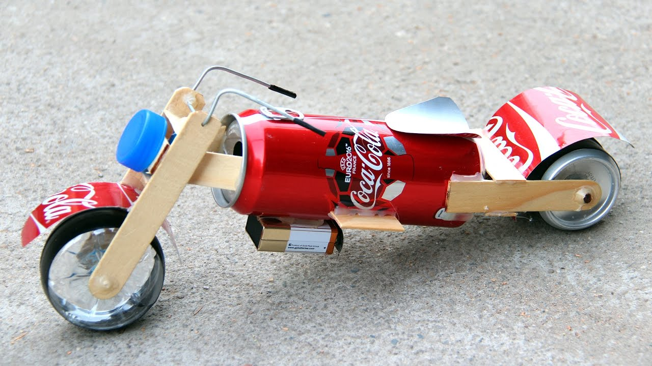 motorcycle craft ideas how to make a motorcycle amazing coca cola 2513